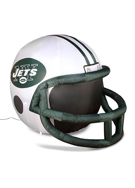 c2f909de415 New York Jets Inflatable Lawn Helmet