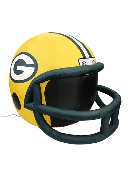 abb17d56f86 Green Bay Packers Inflatable Lawn Helmet